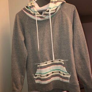 Other - Aztec Print Hoodie Sweatshirt